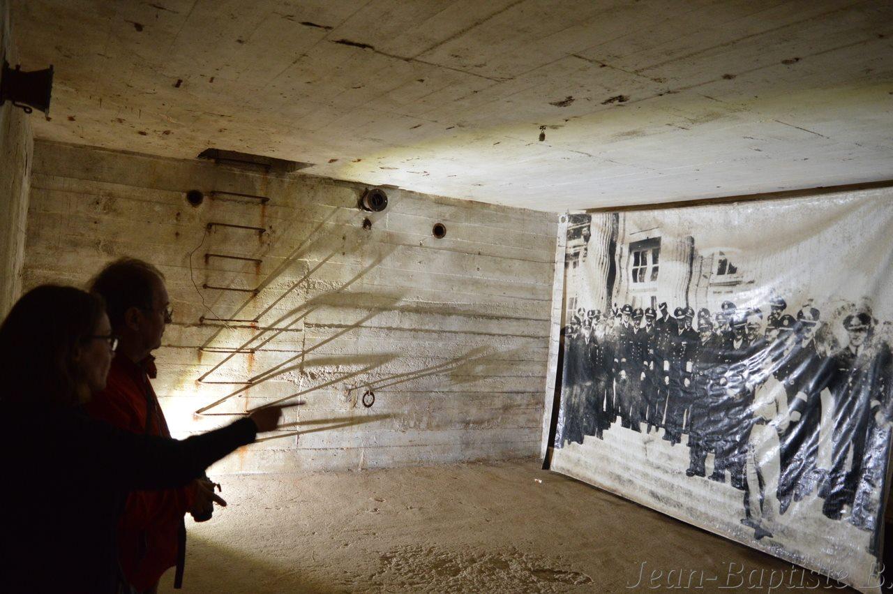 Reprise des visites des bunkers de Pignerolle
